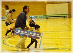 運動会(つばさ小学校体育館)